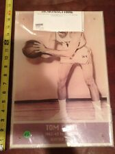 """Tom Gola Hall of Fame 16"""" acrylic hung in Madison Square Garden MSG stadium sign"""