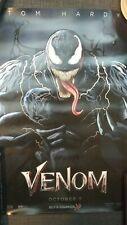 Venom Movie Poster MARVEL Tom Hardy New 2018 Spider-Man collectors Cinemark XD
