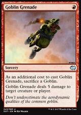 MTG GOBLIN GRENADE EXC - GRANATA GOBLIN - DD.MVG - MAGIC