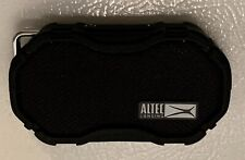 Altec Lansing - Portable Bluetooth Speaker - Water Resistant - Black- IMW269N