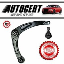 PEUGEOT 307 01> FRONT LOWER CONTROL ARMS / WISHBONES & BALL JOINTS - RIGHT HAND