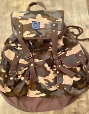 Joules Boys Camo Pattern Rucksack/backpack (used Once)