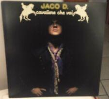 Jaco D. – Cavaliere Che Vai Lp 1983 Promotional Copy White Label Showmusic NM