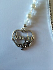 GRANDMA BOOKMARK Antique Silver Colour Great Birthday present or Christmas gift