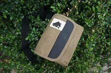 Khaki /brown messenger /canvas bag case for Canon Sony Nikon Panasonic Samsung