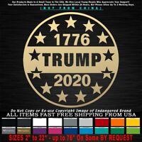 Trump 2020 1776 13 Stars Circle Betsy Ross Patriotic MAGA KAG Sticker Decal