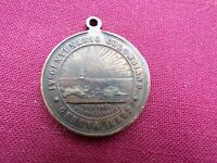1892 Columbian Exposition ? Columbus Landing Bust So-Called Dollar Medal