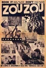 JOSEPHINE BAKER Movie POSTER 27x40 B Josephine Baker