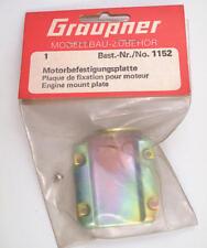 Graupner 1152 Piastra Motore Engine Mount Plate modellismo