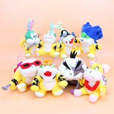 SUPER MARIO - SET 8 PELUCHES / KOOPALINGS / 8 PLUSH TOYS SET 20cm