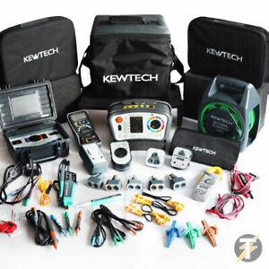 Kewtech KT65DL MFT Multifunction Tester POWER-TEST Kit MASSIVE KIT BUNDLE KIT7X