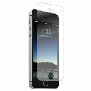 Zagg InvisibleShield Tempered Glass Screen Protector Apple iPhone SE/5/5c/5s