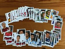 LOT x 60 DIFFERENT NUMBERS FROM 12 TEAMS - PANINI WORLD CUP 2014 BRAZIL STICKERS