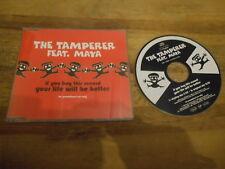 CD pop The Tamperer FT Maya-if you buy this Rec (2) canzone PROMO VIRGIN orbita SC