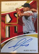 Alex Reyes•/99 On-Card Auto/Patch RC•2017 Panini Immaculate Autograph Dual Relic