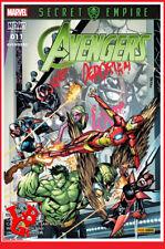 AVENGERS 11 Mai 2018 Panini Marvel Secret Empire IRON MAN Uncanny # NEUF #