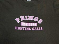 Primos Hunting Calls Deer Duck Established 1976  T-Shirt  XL   S2
