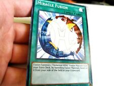 MIRACLE FUSION - 1ST ED COMMON M/NM - SDHS-EN024 - YUGIOH