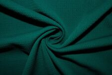 Peacock #40 Bullet Double Knit Stretch Polyester Lycra Spandex Fabric BTY