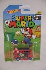 BREAD BOX SUPER MARIO BROTHERS DIECAST NINTENDO SERIES HOT WHEELS 2016