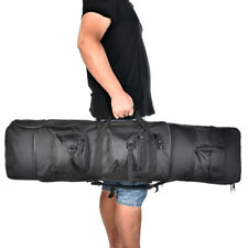 """47"""" Professional Gun Case Hunting Tactical Rifle Bag Carrying Black w/ Strap"""