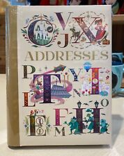 Disney Parks Abc Letters Address Book New