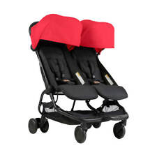 Poussette double nano Ruby Mountain Buggy 2018