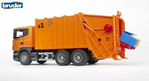 Scania R-Series Garbage Truck Dust Cart - Bruder 03560 Scale 1:16 NEW