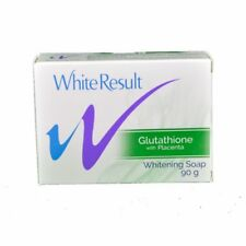 White Result Whitening Soap Glutathione with Placenta 90g