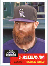 2016 Topps Archives Baseball #57 Charlie Blackmon Colorado Rockies