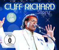 CD DVD Cliff Richard Story 2CDs + DVD