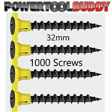Timco Autofeed Black Phosphate Collated Drywall Screws 32mm 1000 pack CE Cert