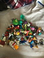 Mixed Lot of Random Toys, Figures and Accessories Grab Bag Lot
