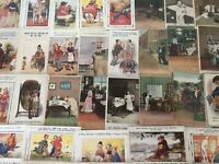 Lot of 40~ Vintage BAMFORTH~Comic Funny Humor Postcards-Various Topics~~a973