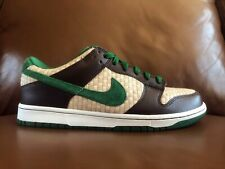 VNDS Men's Nike Dunk Low 6.0 Overcast Hemp Green sz 10 shoes sneaker sb hawaii