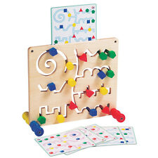 Route Builder Game - Wooden Educational Toy - 3 Years+
