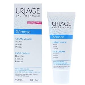 Uriage Xemose Face Cream 40ml Nourishes Soothes Protects