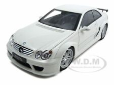 MERCEDES CLK DTM AMG COUPE WHITE 1:18 DIECAST MODEL CAR BY KYOSHO 08461