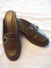 LifeStrides Life Strides Brown Promise Mule Clog Slide Loafer Flat Shoe Size 8.5