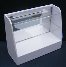 1:12 Scale White Painted Shop Display Unit Dolls House Miniature Furniture D1B