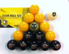 OFFICIAL NRL RUGBY LEAGUE FOOTBALL FOOTY WESTS TIGERS POOL BALLS Full Set