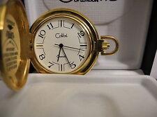 Pocket Watch New Reduced Colibri Swiss Parts Goldtone