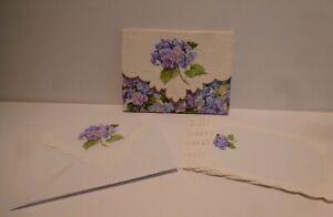 Carol Wilson Hydrangeas - (10 Designer Note Cards &10 env. in carrying case)