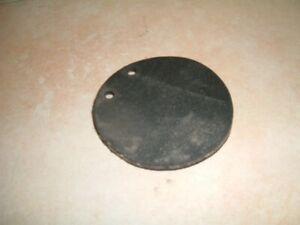 Ersatzmembrane für Kiespumpe und Plunscher 108mm