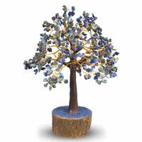Lapis Lazuli Tree Natural Crystal Stone Chip 500 Beads Reiki Healing