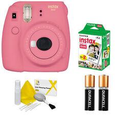 Fujifilm instax mini 9 Fuji Instant Film Camera All Colors + 20 Prints VALUE KIT