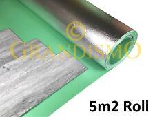 LVT Vinyl Click Flooring Underlay - Damp Proof Membrane - Sound / Acoustic