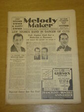 MELODY MAKER 1933 DEC 9 LEW STONE MONIA LITTER BIG BAND SWING