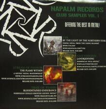 Various Metal(CD Album)Club Sampler Vol.1-NaPALM-New