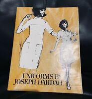 Vintage Joseph Dahdah uniforms catalogue, 1960s